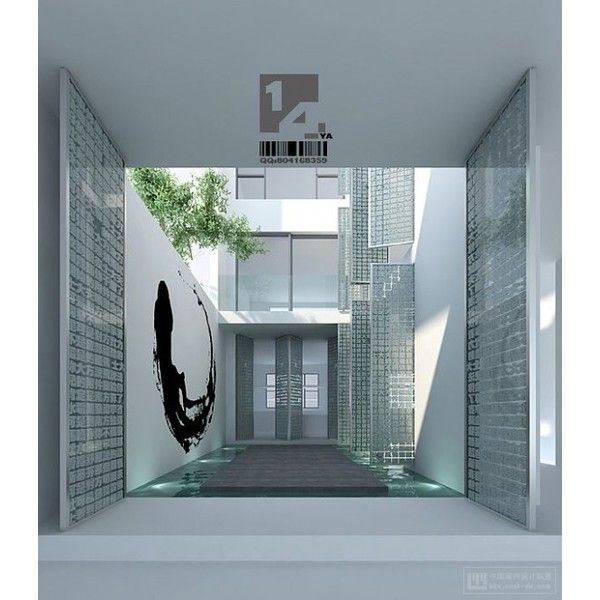 Modern Chinese Interior Design Liked On Polyvore Featuring Rooms