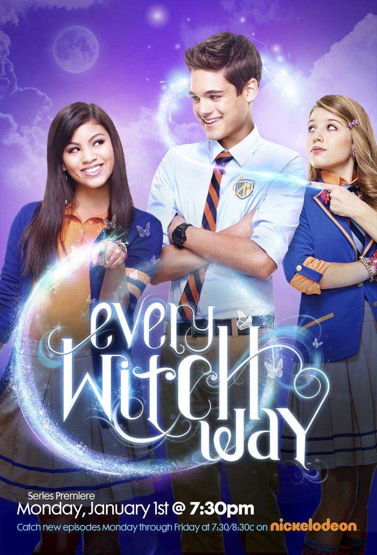 Eu Tenho O Pôster: Every Witch Way, a nova série do Disney Channel.