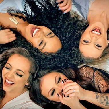 Music: Little Mix throw a slumber party for 'Hair' music video