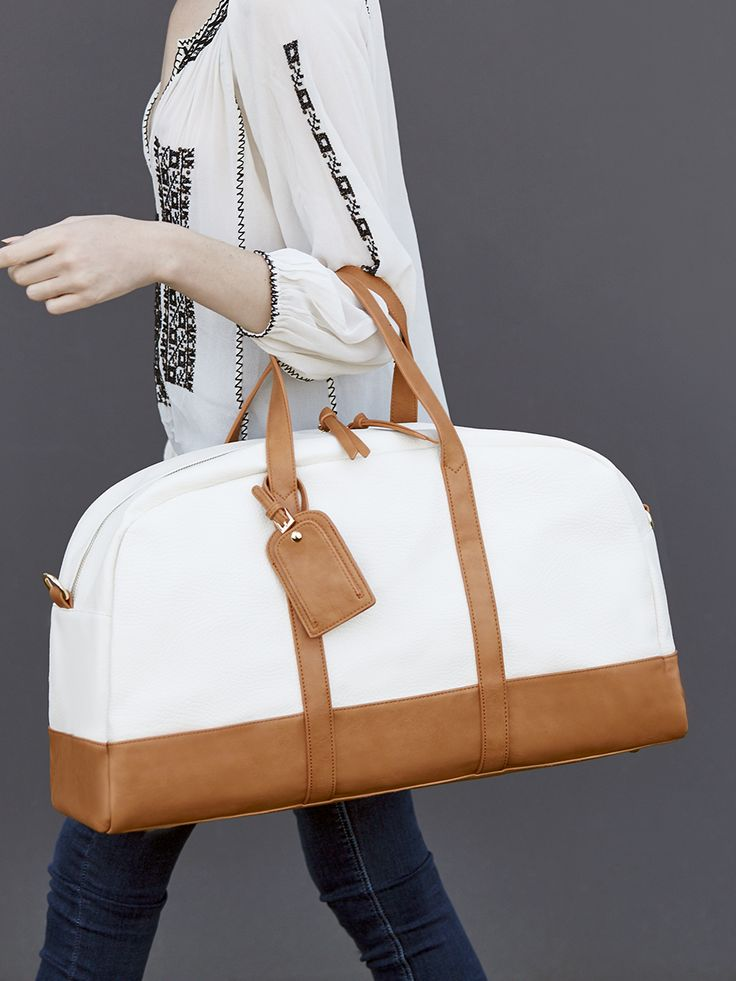 Roomy travel bag for stylish weekend getaways | Sole Society Marant