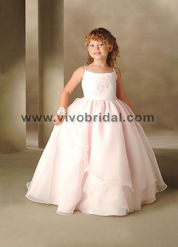 Vivo Bridal -  Flower Girl DressE-0013
