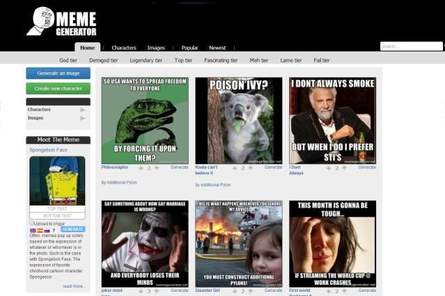 10 Tools to Make Your Own Memes