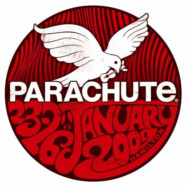 Parachute Music Festival Logo 2009. parachutemusic.com