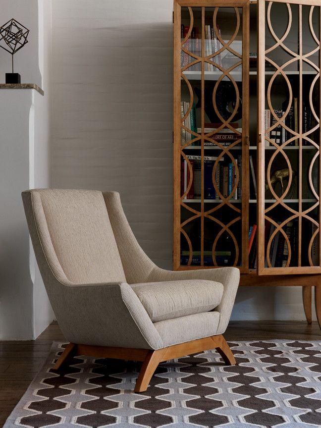 Jensen Chair & Gate Armoire