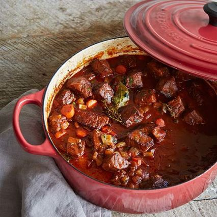 Recipes | Beef Bourguignon from Le Creuset | Sur La Table