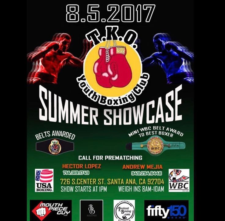 Support TKO youth boxing club ! 8.5.17 !! #boxing