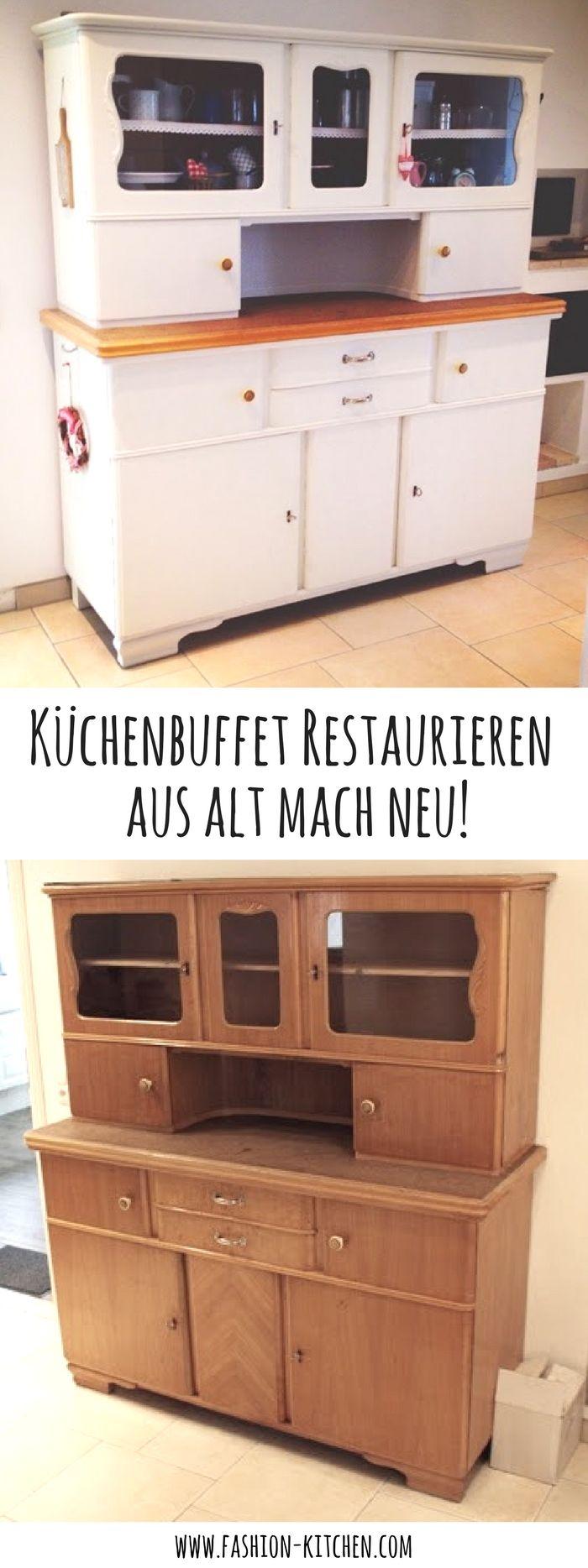 Küchenbuffet DIY – aus alt mach neu