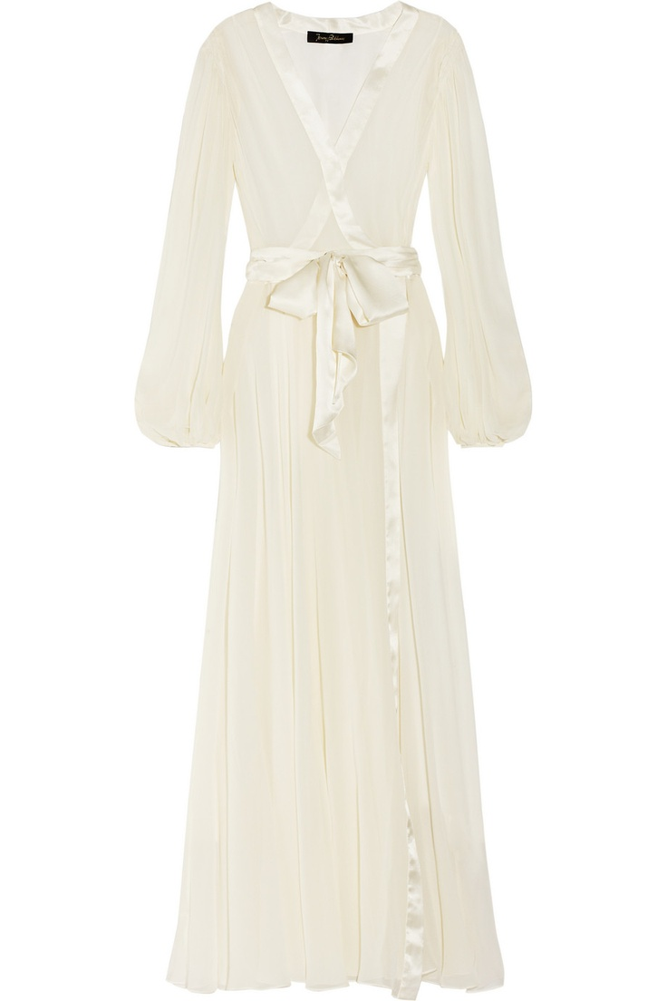 Bedroom Jacket by Jenny Packham.  Such elegant Old Hollywood glam! I can see Jean Harlow lounging in this...