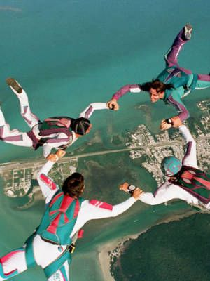 Me gustaría hacer paracaidismo con mis amigos. (I would go skydiving with my friends.) Quiero ir a Hawaii. (I want to go to Hawaii.)