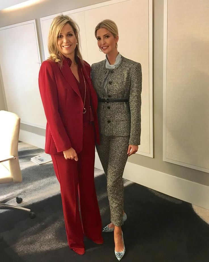 "18.4k Likes, 221 Comments - Ivanka Trump (@ivankatrump) on Instagram: ""Financial inclusion is key to empowering women globally. Thank you Queen Maxima for your tireless…"""