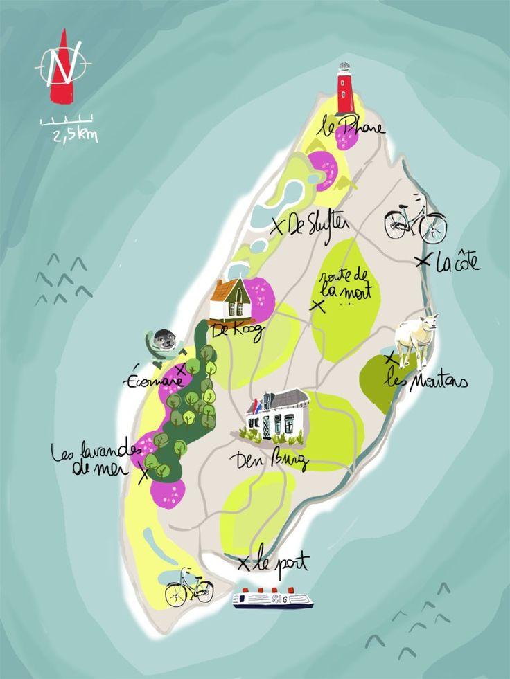 Texel, l'île secrète des Pays-Bas - Tribulations de Marie