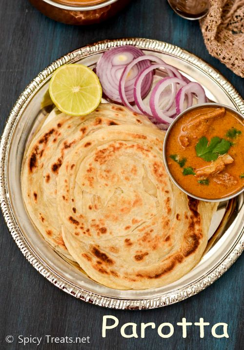 Spicy Treats: Parotta Recipe   Parotta - Step By Step Recipe   South Indian Layered Bread - Hotel Style Parotta Recipe