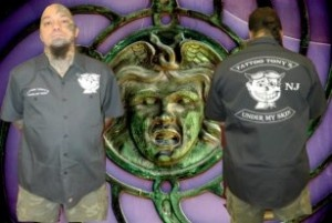 Tattoo Tony's Under My Skin Dickies Mechanic Shirt - exclusively w/ UnPaved Clothing Co