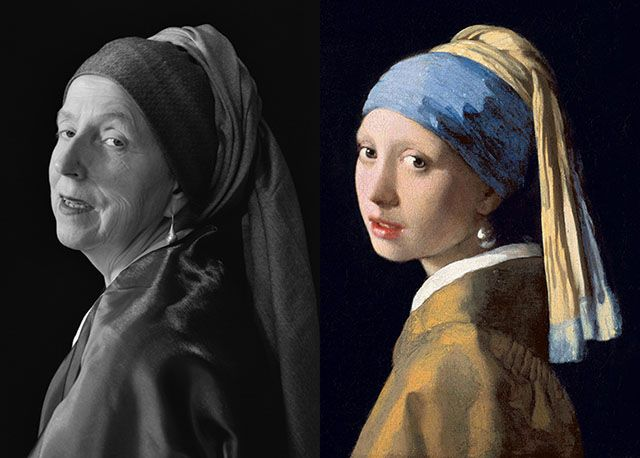 Self Portraits Re-Created From Famous Paintings (pinned 1/16/16)