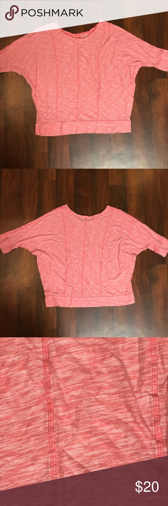 Lane Bryant Plus Size Red Top 22/24 Lane Bryant Plus Size Red Top with 3/4 Sleeves Size 22/24 Brand Lane Bryant  * Excellent condition with no sign of wear, tear, or stains. * Smoke Free Home * Pet Free Home * Daily Shipper * Save with bundle discount! * Open to reasonable offers Lane Bryant Tops Blouses