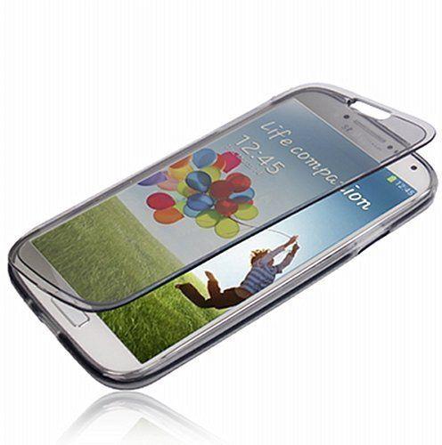 HQ-CLOUD Etui Housse Coque A Rabat en Gel Silicone Pour Samsung Galaxy Grand Plus I9060 I9062 I9060I – Gris