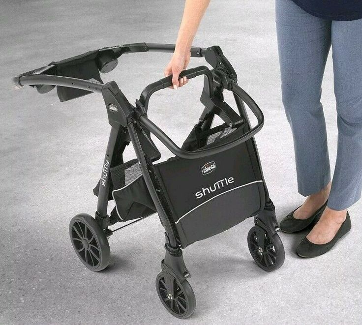 Chicco Shuttle Caddy Stroller In Black for Infant KeyFit ...