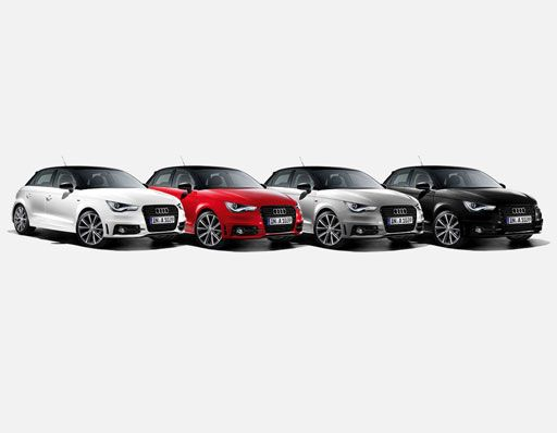 #AudiA1 #Audi #white #red #silver #black