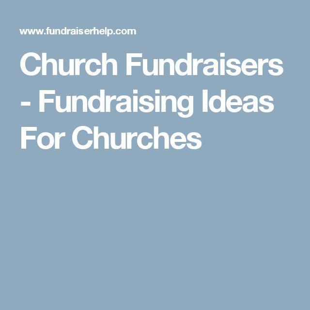 Church Fundraisers - Fundraising Ideas For Churches