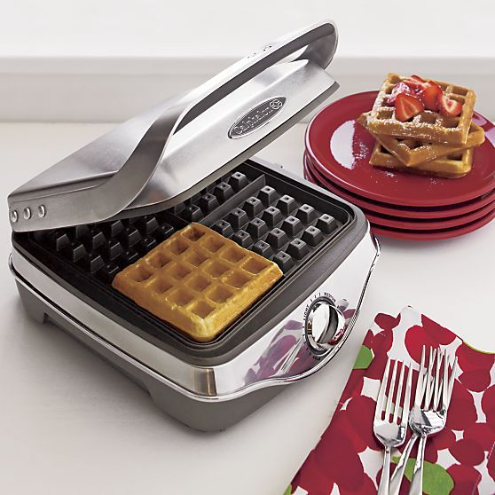Calphalon® Waffle Maker in Specialty Appliances | Crate and Barrel. just like joy the baker's!