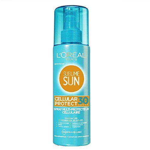 L'Oréal Paris Spray Protection Solaire Cellular Protect: Découvrez Sublime Sun Cellular Protect pour une proction contre les 6 dommages du…