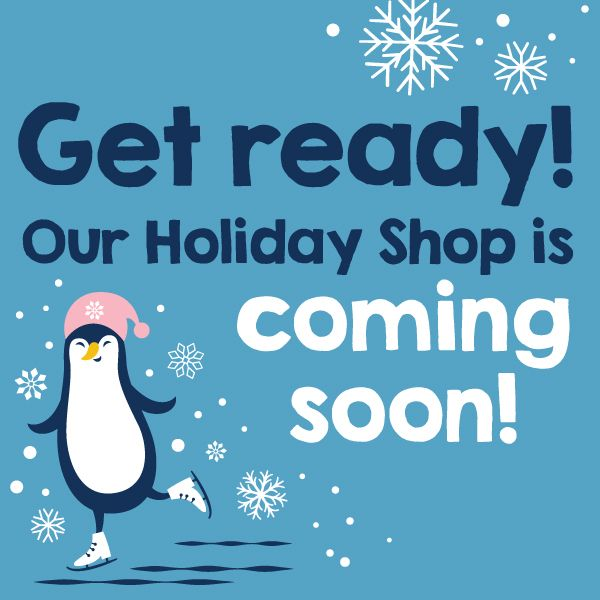 Use our free graphics to promote your school's holiday shop!   #pto #pta #holidays