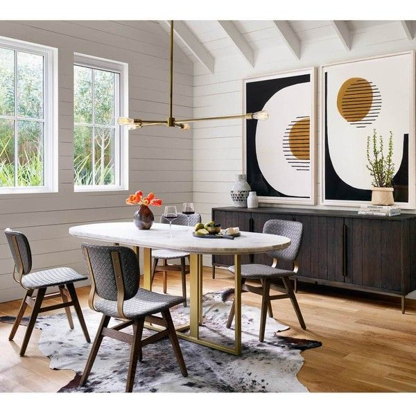 Best 25+ Oval dining tables ideas on Pinterest | White oval dining ...
