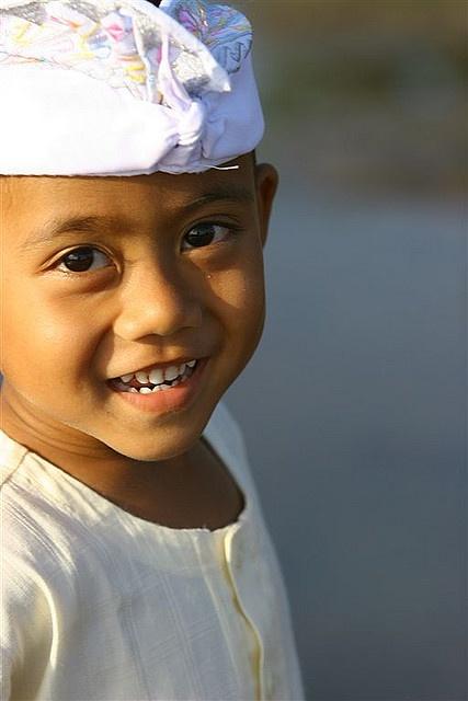 Cute Bali boy