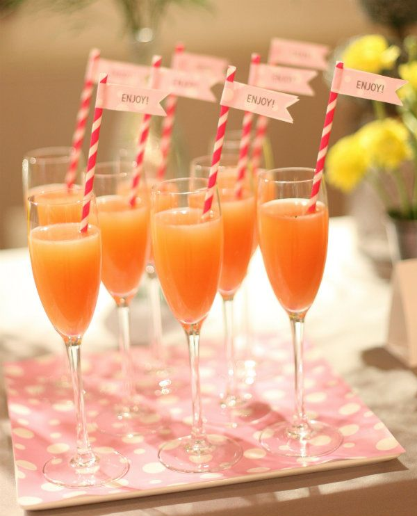 Awesome Party Cocktails Ideas Part - 11: Cute Champagne Cocktail Idea! #party #cocktail #entertaining #champagne