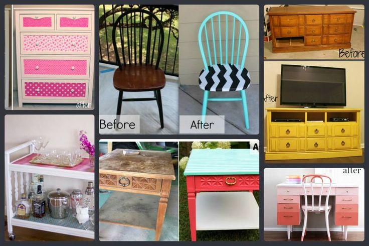 Récupération de vieux meubles