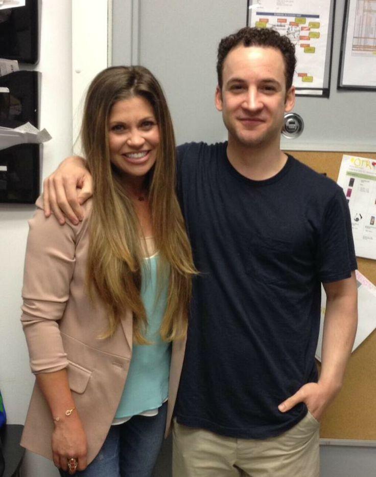 Danielle Fishel and Ben Savage