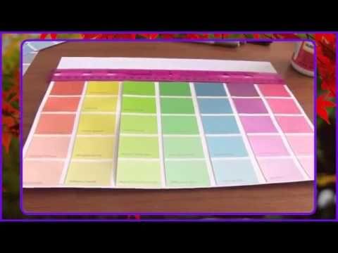 Paint Sample Calendar - How To - Dry Erase - http://www.knittingstory.eu/paint-sample-calendar-how-to-dry-erase/