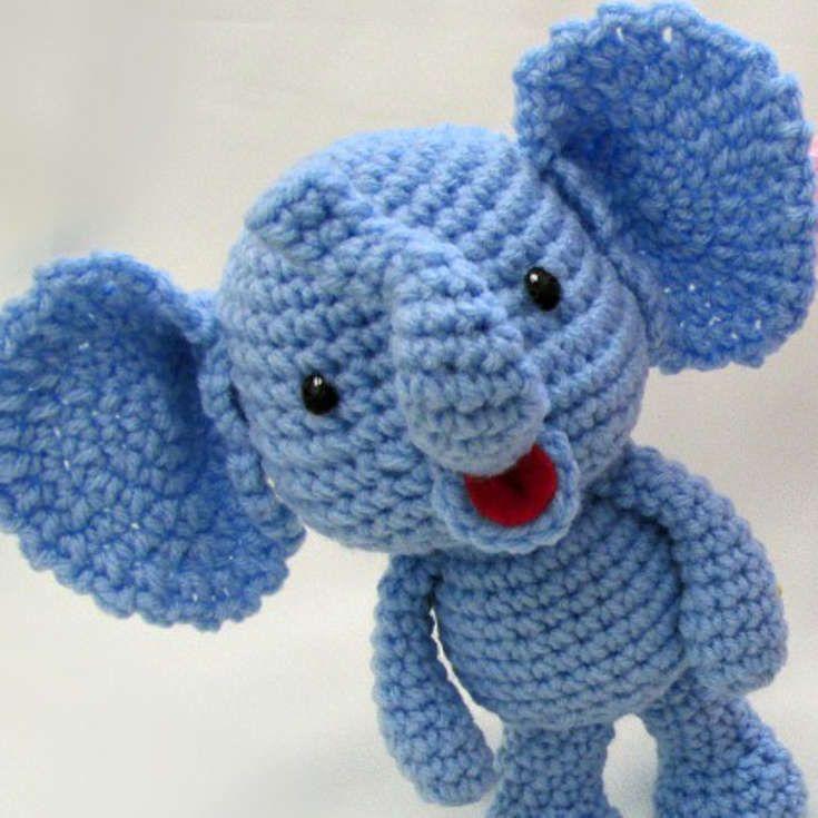 Amigurumi To Go Little Bigfoot Elephant : 1000+ Bilder zu Amigurumi auf Pinterest