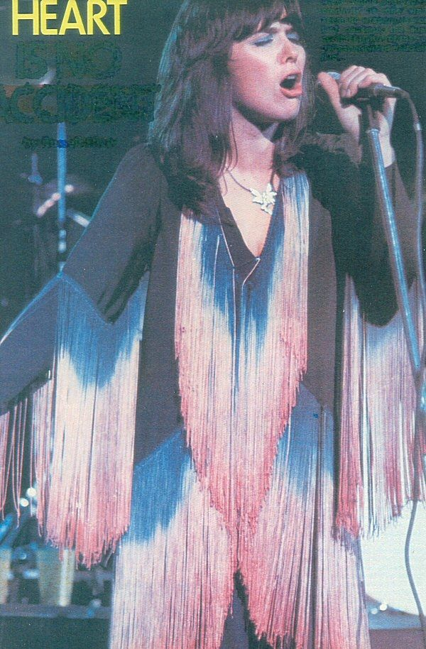 Fringy Ann Wilson from Heart
