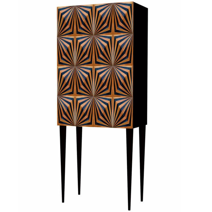 add a dash of psychedelic flair to cocktail hour with galanu0027s cabinet