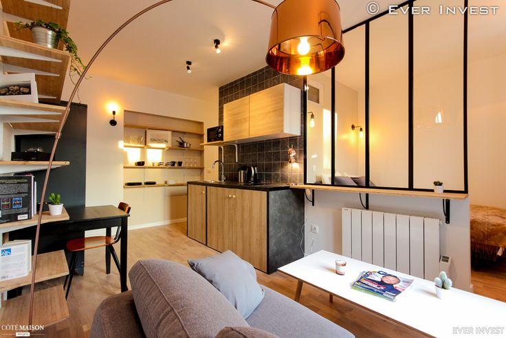 Les 25 meilleures id es concernant studio la cave sur for Interieur appartement parisien