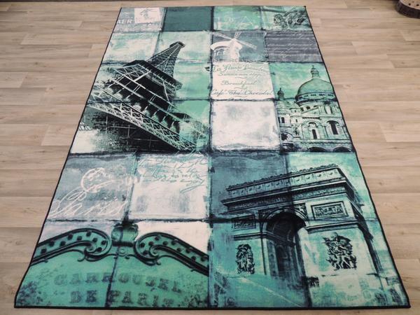 Paris Patch Rug Size: 240cm x 160cm