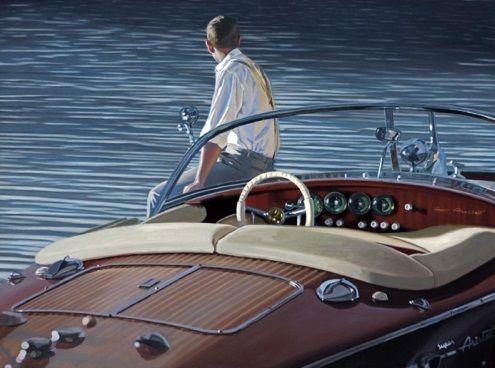 Iain Faulkner_Contemplating Return_Signed Limited Edition_17x23 | Scottish Contemporary Art
