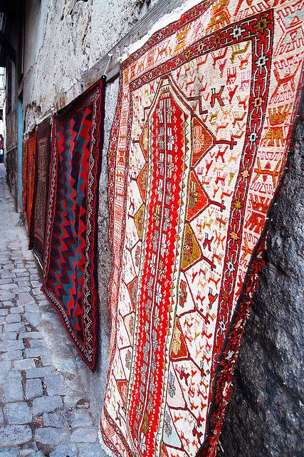 Turkish carpets and rugs are recognized for their high quality craftsmanship, with historical records showing the tradition has been in places since at least 7000 BC.