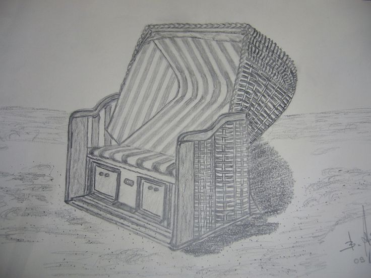 Strandkorb  von  Meerhexe auf DaWanda.com