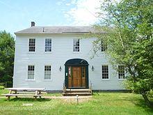 Nathaniel Hawthorne's boyhood home, Raymond, Maine..