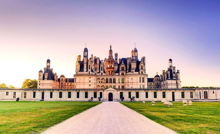 Chateau de Chambord i Frankrike #chateau #chambord #castle #slott #frankrike #france
