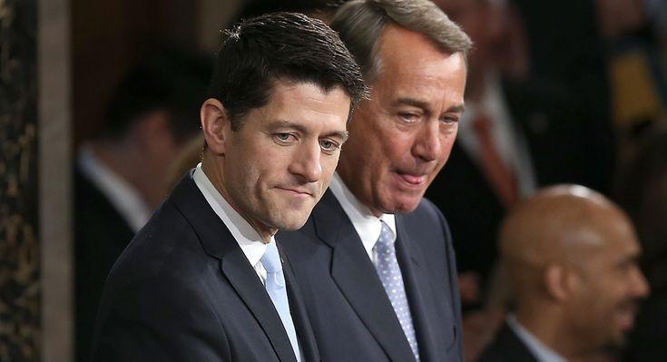 Boehner backs Paul Ryan for president