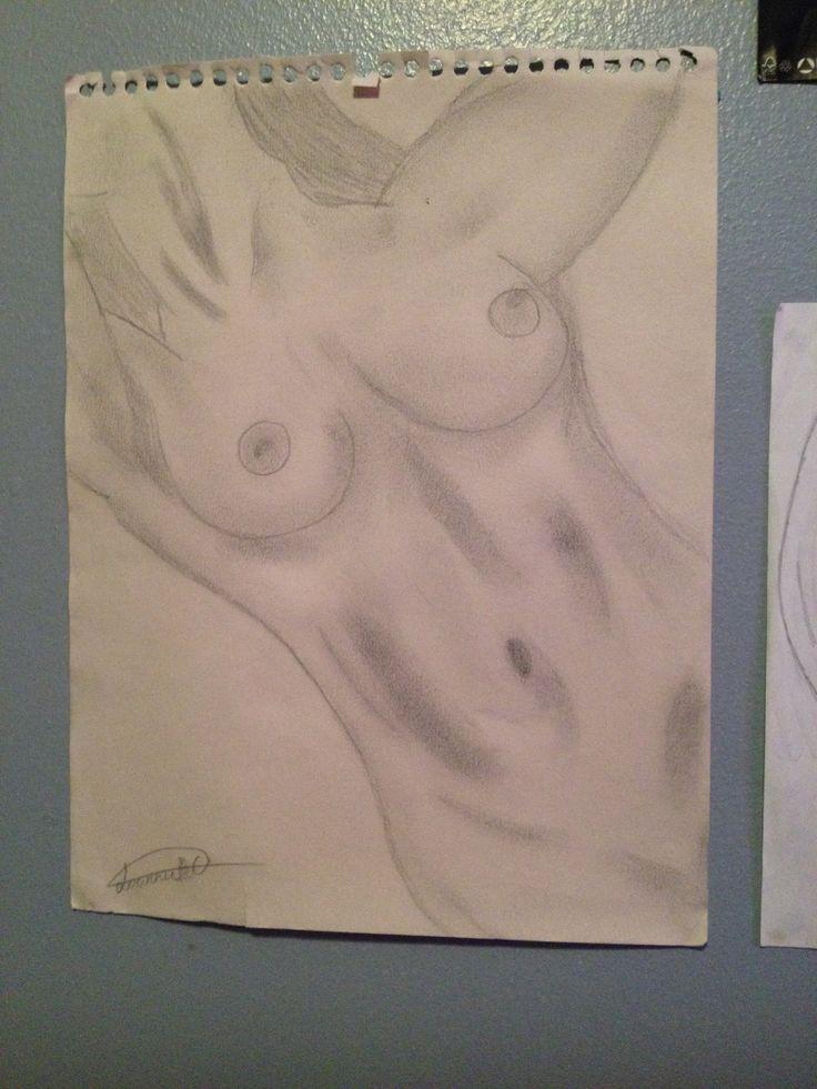Corp femme nu