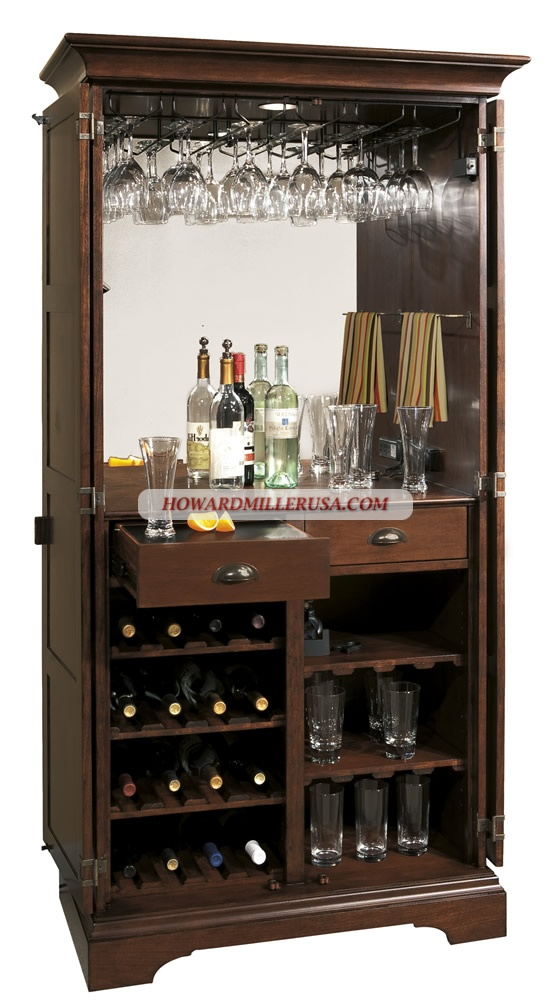 howard miller wine furniture offers non climate controlled wine bar cabinets and wood wine cabinets throughout their wine u0026 spirits line see the full