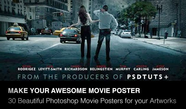 Movie Poster Photoshop Template. 25 creative movie poster ...
