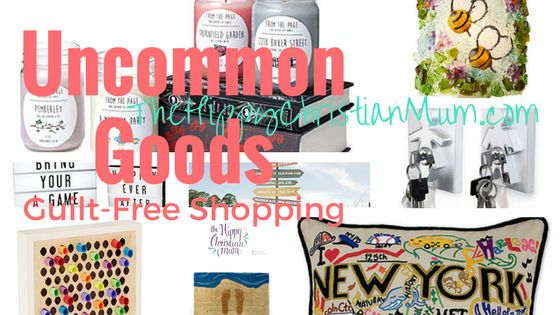 Guilt Free Shopping with Uncommon Goods