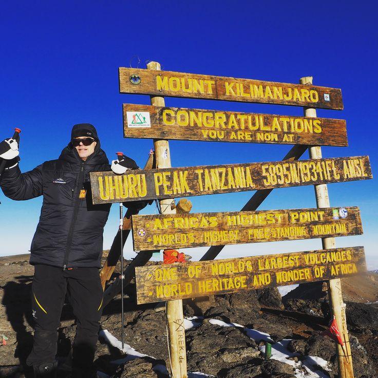 Joakim Stafsén, Mt Kilimanjaro, Tanzania