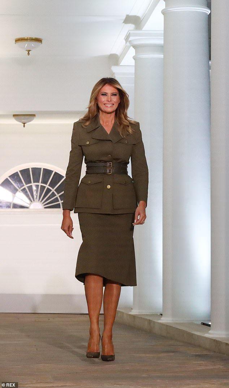 Jumpsuit Alexander Mcqueen Melania Trump Dress