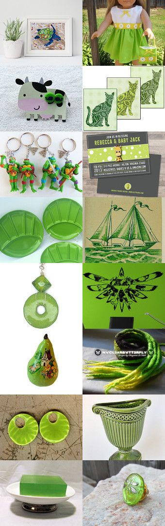 Cool LIme                                        Treasury Power by Bill and Shirley McAllister on Etsy--Pinned+with+TreasuryPin.com